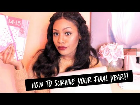 How To Survive Your Final Year/ Uni tips!