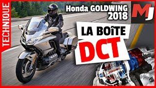 Honda GOLDWING - la BOITE DCT, comment ça marche ? MOTO JOURNAL