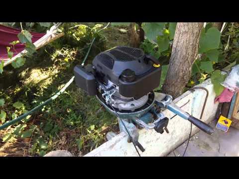 Лодочный мотор из мотокультиватора