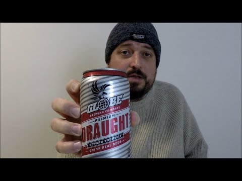 Globe Premium Draught 4.6% ABV - SwillinGrog Beer Review