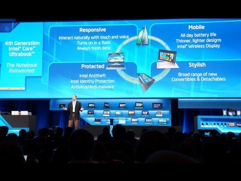Intel 4th Generation Ultrabook Launch