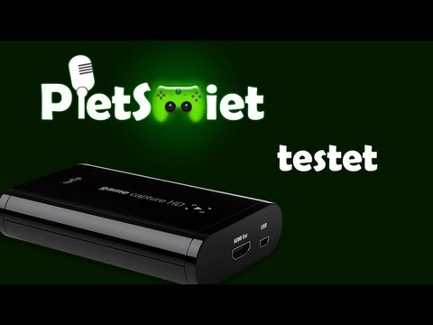 Elgato Game Capture HD Review / Test von PietSmiet [Deutsch] [Full-HD]