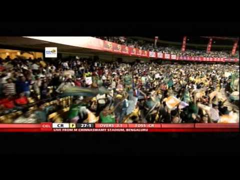 CCL4 Chennai Rhinos Vs Karnataka Bulldozers 1st Inn Match in Bangalore - Part1