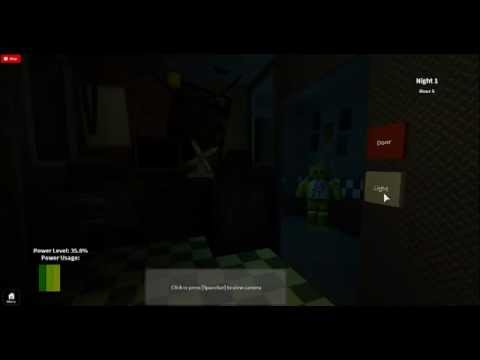 Roblox five nights at freddys night 1 part 2 youtube