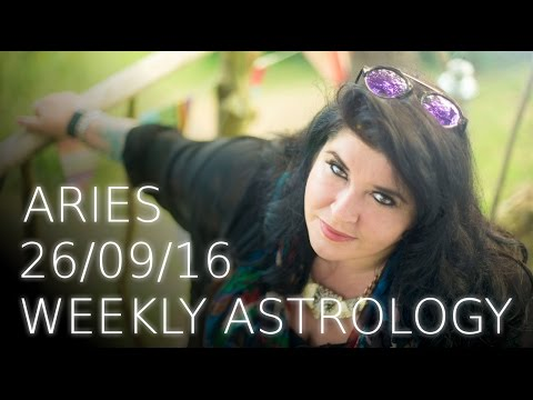 Aries Weekly Astrology Forecast September 26th 2016