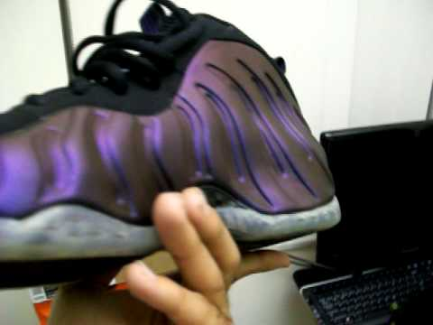 EVERY FOAMPOSITE COLOR WAY EVER MADE!!!!! COPPER EGGPLANT cough drop SPACE JAM