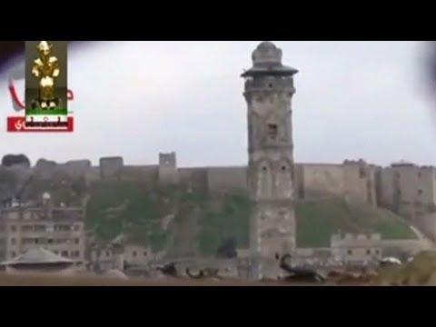 2012: Great Umayyad Mosque's minaret