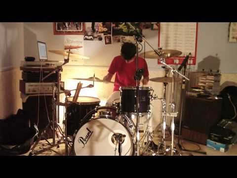 Radiohead - Weird Fishes/Arpeggi (drum cover)