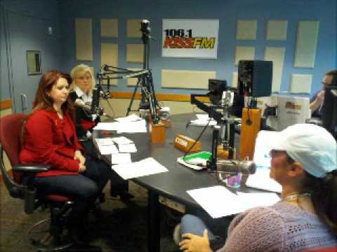 Karen Dionne and Brandi Aubrey on KISS FM 106.1 Radio Interview Heart Disease and Stroke