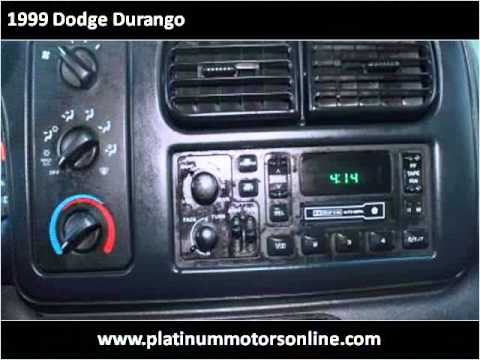 1999 Dodge Durango Used Cars San Leandro CA