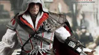 Assassin's Creed 2 Hot Toys Ezio 1/6 Scale Video Game Masterpiece Collectible Figure Review