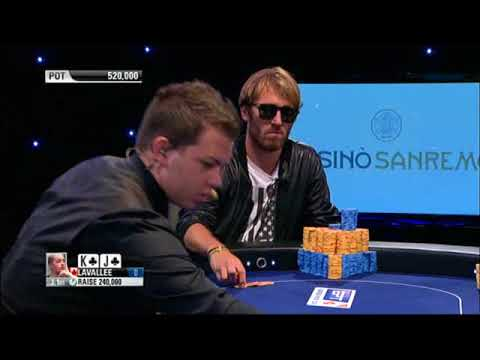 EPT9 – SanRemo. Main Event, FinalTable. E2