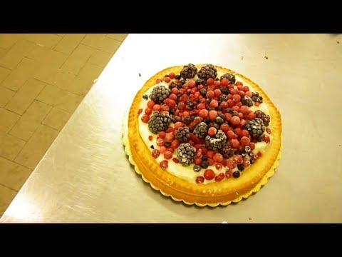 Video Ricette Dolci : Torta ai Frutti di Bosco con Pasta Frolla