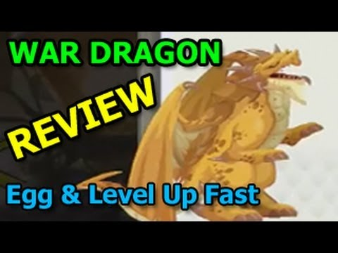 WAR DRAGON Dragon City Egg and Level Up Fast Review