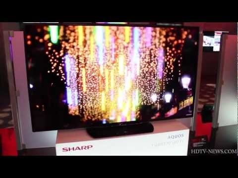 2013 Sharp Aquos TV Lineup (Series 6, 7, 8)