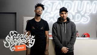 21 Savage Goes Sneaker Shopping with Complex