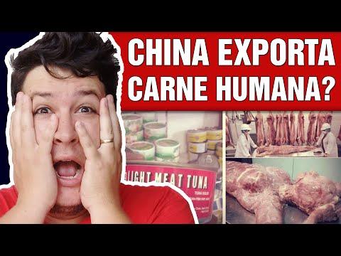 China Exporta Carne Humana Enlatada para África? (#348 - Notícias Assombradas)
