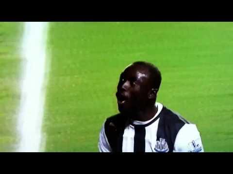 Drogba 's reaction after papis cisses goal