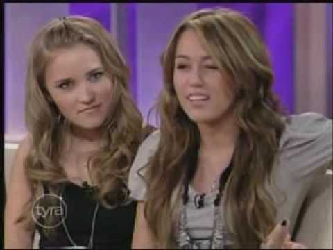 Miley Cyrus Interview At Tyra Banks Show 4/10/09 Part 5/6 HQ