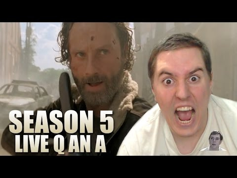The Walking Dead Season 5 Post Trailer - TrevsChan2 Live Q and A Show!
