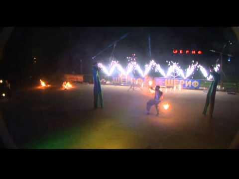 фаер шоу, театр огня Махатма,огненное шоу программа.avi
