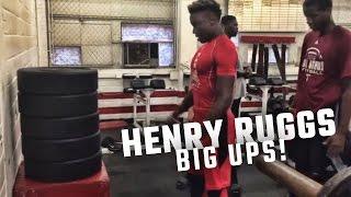 Alabama five star commitment Henry Ruggs III has amazing hops