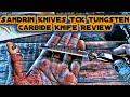 Sandrin Knives TCK Tungsten Carbide Knife Review Mp3