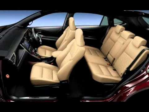 All New 2014 Toyota Harrier & Harrier Hybrid