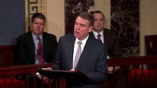 Trump is TrembIing after Mark Warner just gave him a Warning on Mueller