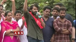 Pawan Kalyan's Porata Yatra In Tekkali On 4th Day