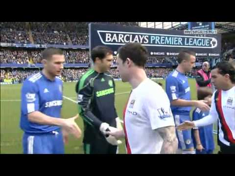 Wayne Bridge refuses to shake hands with John Terry