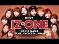 IZ*ONE at 2018 MAMA FANS CHOICE in JAPAN | All Moments