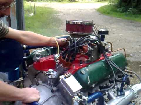 ГАЗ-13 Двигатель GAZ-13 engine (russian V8) part2