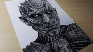 Drawing Night King / Game of Thrones / Time-lapse
