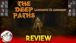 THE DEEP PATHS: LABYRINTH OF ANDOKOST: RPG Dungeon Crawler con Sabor a Clásico! │ Review en Español