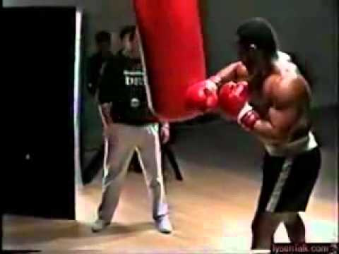 Mike Tyson Heavy Bag Workout Part 2 Image 1