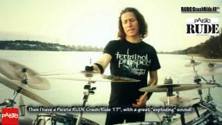 TERMINAL PROSPECT/ GRAVERAPE RITUAL - Sebastian Rojas (Paiste cymbals) - Official Promo video (Spani