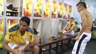 BASTIDORES - Santos 1 x 0 Cruzeiro