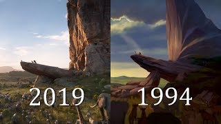 "THE LION KING (1994 vs 2019) ""Circle Of Life"" Official Clip Comparison SHOT BY SHOT HD"