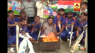 Jammu: Fans perform yagna for Team India's victory