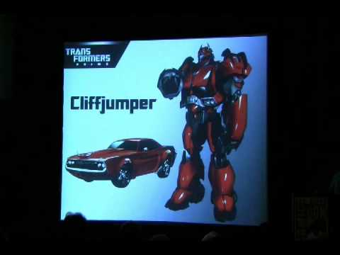 San Diego Comic-Con 2010 - TF Prime panel 02