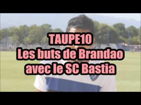 Les plus beaux buts de Brandao avec le SC Bastia