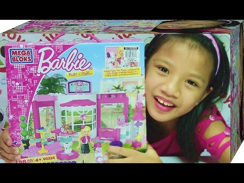 Mega Bloks Barbie Pet Shop - Includes Pretty Pets Barbie