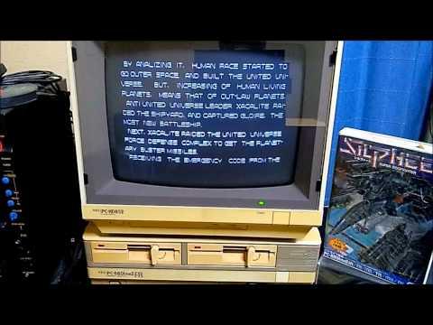 NEC PC-8801 Silpheed / シルフィード
