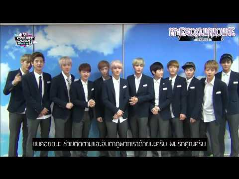 [THAISUB] 130829 EXO interview @ MCD #EXO9th Win