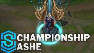 Championship Ashe Skin Spotlight - Pre-Release - League of Legends