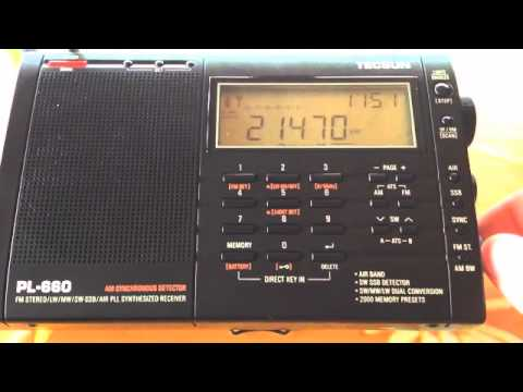 Tecsun PL-660 vs Redsun RP-2100 on 21470 kHz
