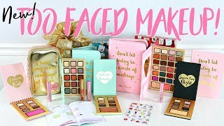 Too Faced Holiday Collection and MAKEUP GIVEAWAY!!! | BELINDA SELENE