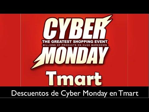 Cyber Monday en Tmart descuentos y ofertas