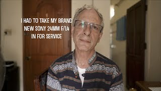 My New Sony 24mm f/1.4 Needed Repair